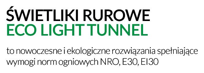 świetliki rurowe EI30, E30, NRO