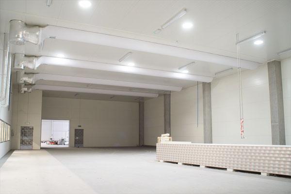 System naturalnego oświetlenia dla przemysłu.