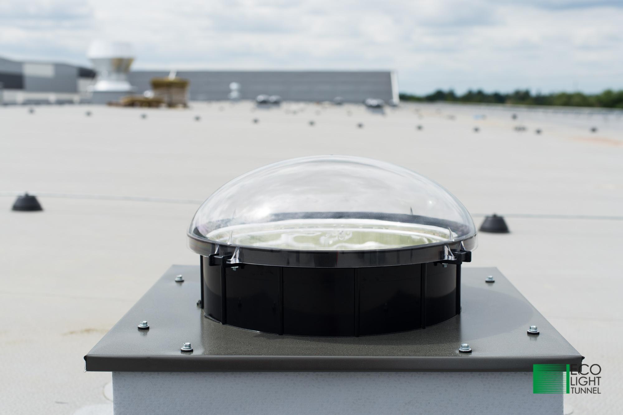 Część dachowa świetlika tunelowe 35 cm